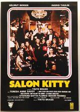 Dvd Salon Kitty di Tinto Brass 1976 Usato