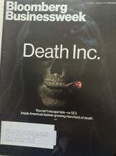 Bloomberg Businessweek Magazine Death Inc. Oct/November 3, 2013 091717nonrh