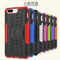 Rugged Hybrid Armor Shockproof Hard Kickstand Case Stand Cover For OnePlus 5