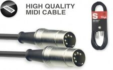 Stagg SMD2 Professional High quality  Midi cable - 2 Metres