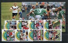 Gambia 1769/76 Block 211/12 postfrisch / Fußball .........................1/2440