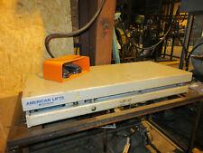 """New listing American Lifts 2,000 Lbs. Hydraulic Scissor Lift Table 18"""" x 42"""""""
