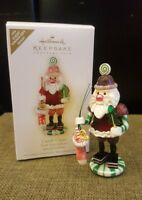 2009 Hallmark Ornament Candy Claus Event Dinner Gift Repaint Special