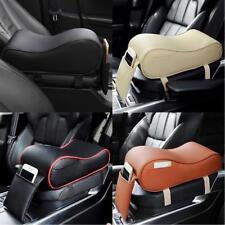 Car Universal Armrest Box Mats PU Leather Mat Car Seat Centre Console Pad NEW