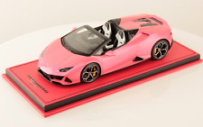 1/18 MR Collection Lamborghini Huracan Evo Spyder Gloss Pink limited 5 pcs