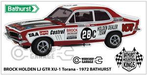 Sticker Brock LJ GTR BROCK BATHURST STYLE