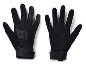 Under Armour Men's Black Tactical Blackout Tac Glove 2.0 NEW! POLICE FIRE SWAT