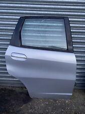 2008-2015 HONDA JAZZ MK2 DRIVERS SIDE REAR DOOR IN SILVER COMPLETE OSR DOOR JAZZ