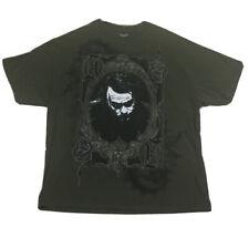 Batman T-Shirt The Dark Knight Joker Heath Ledger Green Graphic Tee Size 2XL