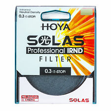 HOYA SOLAS 58mm ND-2 (0.3) 1 Stop IRND Neutral Density Filter MPN: XSL-58IRND03