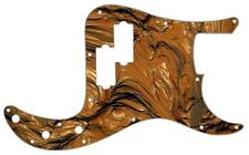 P Bass Precision Pickguard Fender 13 Hole Guitar Scratch Plate Abstract 12