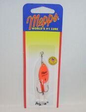Mepps Aglia 1/6oz Hot Orange Spinner Fishing Lure Salmon Steelhead Trout