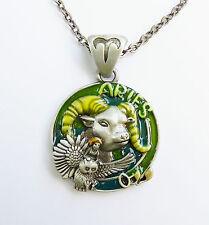 ARIES FAERY Zodiac Faerie Necklace Jody Bergsma astrological fairy pendant