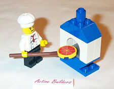 Lego Minifig Chef and Oven at Pizzeria 10216 Pizza Bakery Kitchen