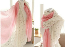 Women fashion polka dot scarf chiffon long 155/65 cm ladies gift