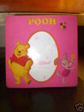 Winnie The Pooh - CORNICE PORTAFOTO in gomma ROSA