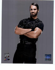 Seth Rollins UNSIGNED 8x10 Official Photo file WWE WWF Wrestling