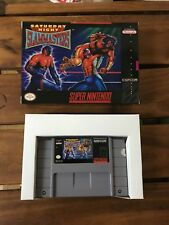 SATURDAY NIGHT SLAM MASTERS * snes * NTSC