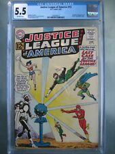 Justice League of America #12 CGC 5.5 DC Comics 1962 Origin & 1st Doctor Light