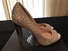 NEW* Vince Camuto - Glaze/Silver Gleam Open Toe Heels