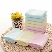 Soft Cotton Baby Infant Newborn Towel Washcloth Feeding Wipe Cloth Handkerchief