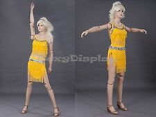 Female Mannequin Flexible Head arms and legs Dress Form Display #MD-Z-FFXF