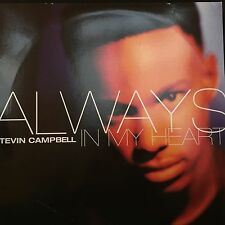 "TEVIN CAMPBELL ALWAYS IN MY HEART 12"" PRINCE 1993 QWEST PRO-A-6701 DJ PROMO"