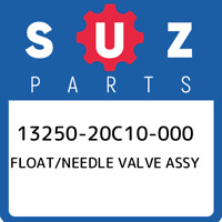 13250-20C10-000 Suzuki Float/needle valve assy 1325020C10000, New Genuine OEM Pa