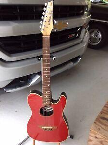 Fender Telecoustic Acoustic Electric Guitar Serial No:CD04046368