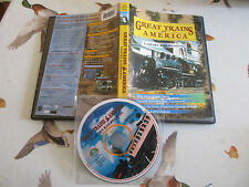 DVD GREAT TRAINS OF AMERICA  - EASTERN RAILROADING IN INGLESE