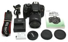 Very Clean Canon EOS Rebel T5i 18MP Digital Camera w/ 18-55mm IS STM Lens  26760
