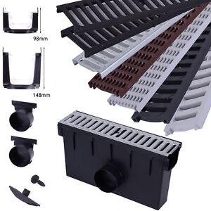 Einlaufkasten A15 B125 C250 Hofablauf 98mm / 148mm Hofsinkkasten Fangkorb
