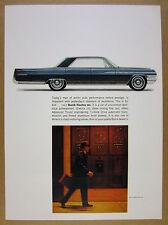 1963 Buick Electra 225 car illustration art vintage print Ad