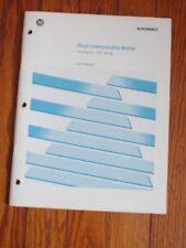 Allen-Bradley Ab Direct Communications Module User Manual. No.1747-Dcm / -Nm007