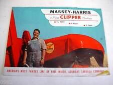 Massey Harris Clipper Combines Brochure