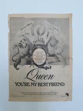 Rare queen music memorabilia