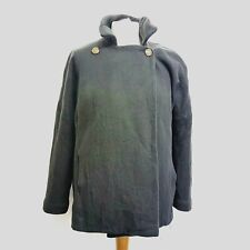 Avoca Womens Coat Wrap Charcoal Grey Cashmere Mix Size Small - Medium UK12