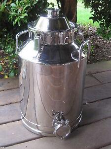 8 Gallon Stainless Steel, Moonshine Whiskey Still Boiler kettle