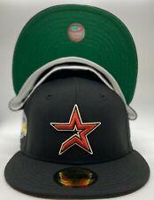 Custom Astros New Era 2005 World Series Side Patch 59Fifty Wool Green UV NWT