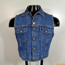 CALVIN KLEIN Jeans Cotton Denim Vest Womens Size M