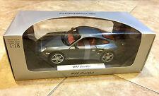 1:18 NOREV PORSCHE 997 911 TURBO GREY METALLIC VERY RARE Dealer Edition NEW