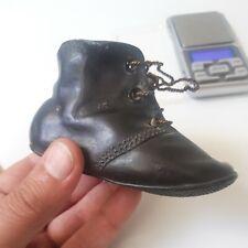 Sculpture bronze Soulier Enfant  old shoes XIX