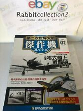"DIE CAST "" MITSUBISHI A6M5 ZERO "" WW2 AIRCRAFT COLLECTION FIGHTER 1/72 (02)"