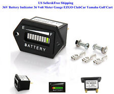 US 36V Battery Indicator 36 Volt EZGO ClubCar Yamaha Golf Cart Meter Gauge New
