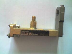 TEKTRONIX Model WM490A , WG22 Mixer to SMA , 26.5 - 40GHz ,for Spectrum Analyser