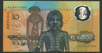 Australian First Prefix $10 AA00 177653 +Ovpt Bicentenary Polymer Banknote issue