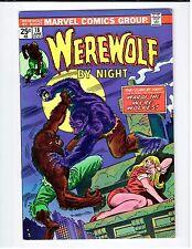 Marvel WEREWOLF BY NIGHT #18 - VF 1974 Vintage Comic