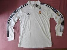 Maillot Real Madrid Zidane Raul Roberto Carlos UCL final 2002 02 Longue Sleeve