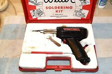 WELLER 8200 DUAL HEAT 100/140 watt SOLDERING GUN in CARRYING CASE TESTED      19
