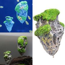 Aquatic Float Stone Decoration Simulation Fish Tank Aquarium Ornament Decoration